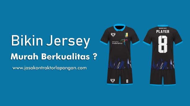 Jasa Pembuatan Jersey Printing, Jersey Futsal, Bikin Jersey