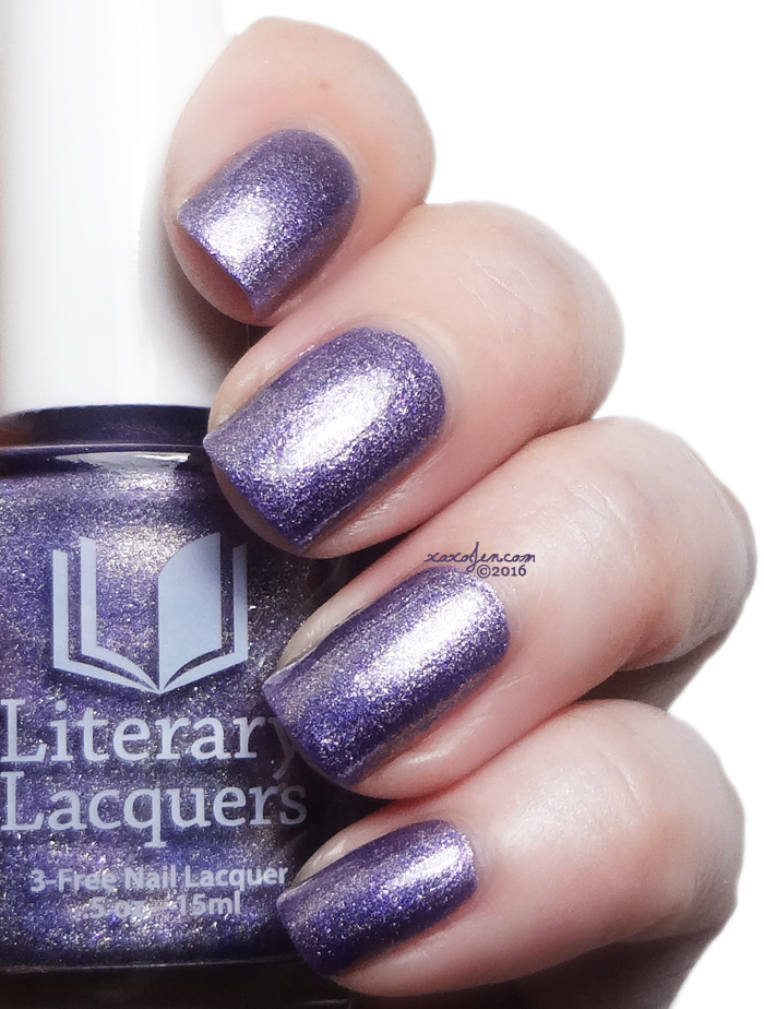 xoxoJen's swatch of Literary Lacquers Lestat