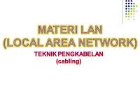 Materi Teknik Pengkabelan LAN