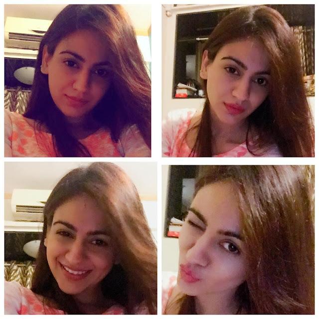 Aksha Pardasany Cute Instagram Selfie