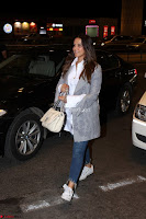 Neha Dhupia in Shirt Denim Spotted at Airport IMG 3512.JPG