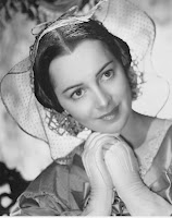 Olivia de Havilland as Melanie, Oscar-winning portrayal, Gone with the Wind, directed by Victor Fleming