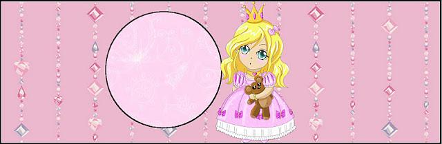 Blondie Princess, Free Printable Labels