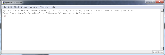 Python Windows IDLE