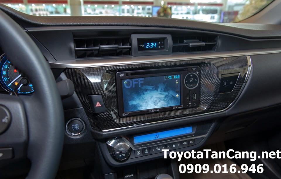 corolla altis 20 v toyota tan cang 29 - Đánh giá Toyota Corolla Altis 2.0V CVT 2015 - Giá trị đến từng chi tiết - Muaxegiatot.vn