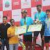 तरुण  व कामिनी शर्मा ने जीती ताज साईकिल रेस...