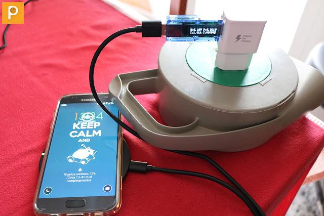 Aukey LC-C2 - Ricarica wireless contro i connettori