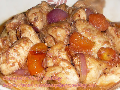 Binagoongan Manok, Chicken in Salted Shrimp Paste