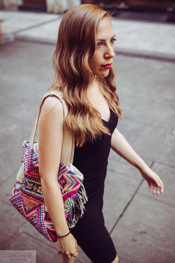 Outfit Zuzabel dress Maikshine blog