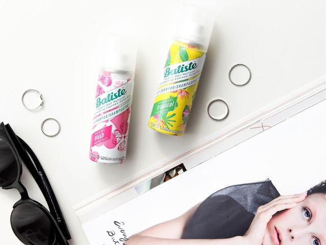 blog nákupy pr balíčky batiste suché šampony