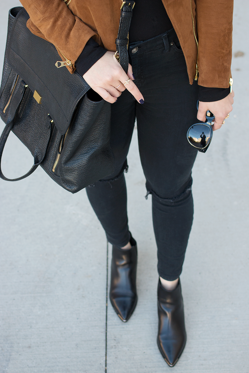 Black and tan for Fall
