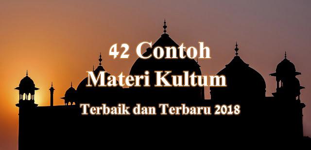 Contoh Materi Kultum Ramadhan Terbaru