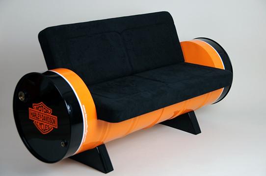 30+ desain kursi unik dari drum bekas paling keren dan inspiratif