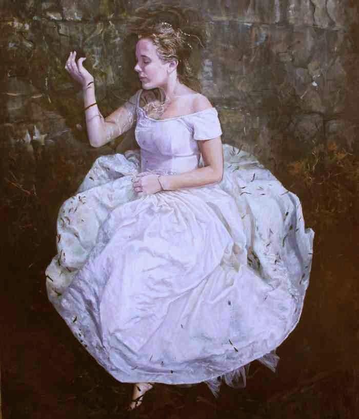 Современная австралийская художница. Megan Roodenrys