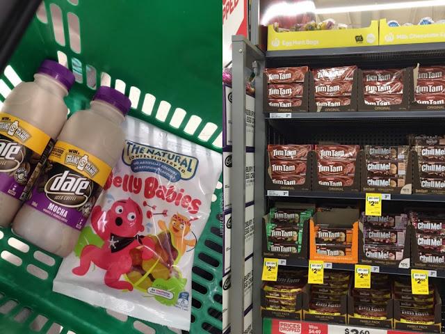woolworths dare jelly babies tim tam curitan aqalili
