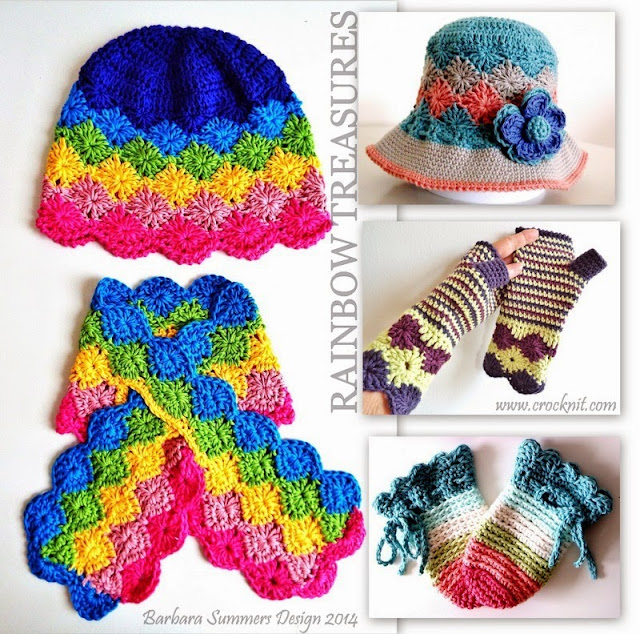 crochet patterns, hats, sunhats, mittens, fingerless, scarf, keyhole,