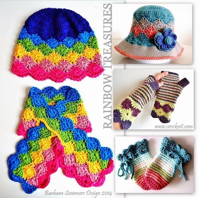 crochet patterns, hats, sunhats, mittens, fingerless, scarf, keyhole,
