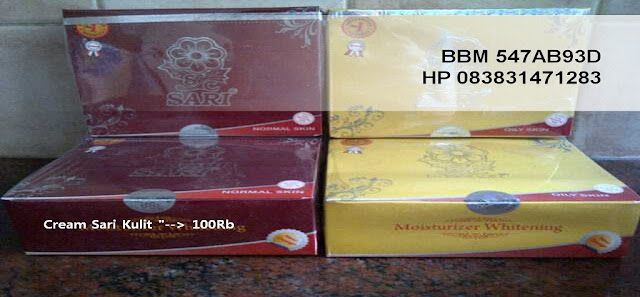 distributor cream sari original asli murah aman