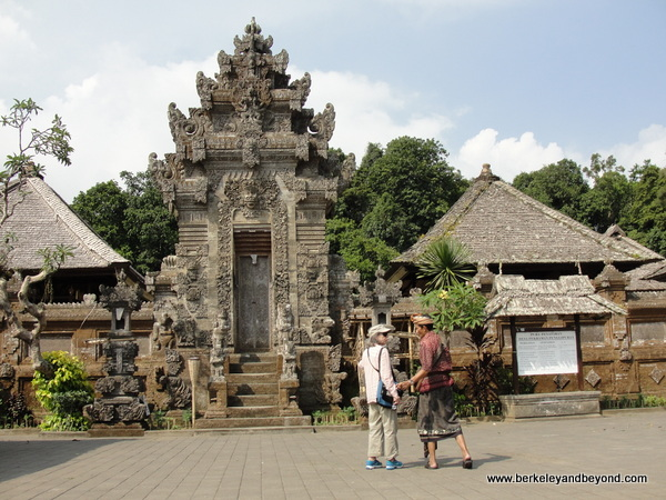 temple at Penglipuran Village in Bali, Indonesia