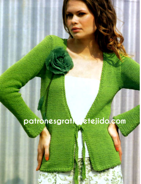 chaqueta-tricot