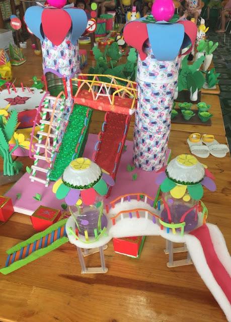 Hội thi làm đồ dùng đồ chơi sáng tạo