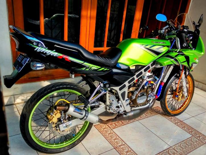 gambar foto modifikasi ninja r-15 terbaru tahun 2017