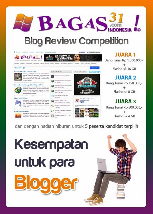 Event: BAGAS31 Blog Review Competition 1