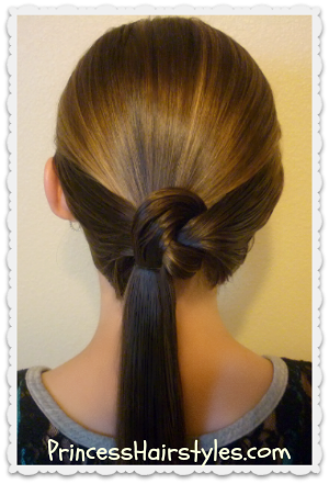 Knotted Ponytail Tutorial