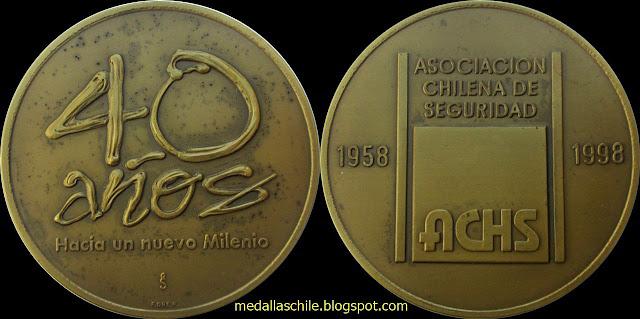 Medalla Asociación Chilena de Seguridad