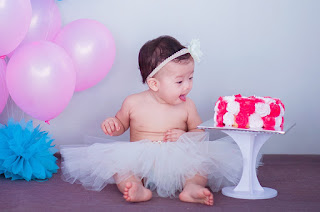cute baby dp girl cake dp