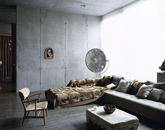 el encanto de las paredes de hormigon chicanddeco