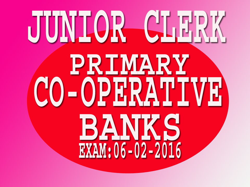Co Operative Bank Exam Question Papers Pdf