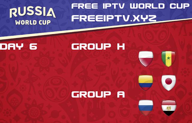 World Cup 2018 sport channel free iptv playlist 19/06/2018