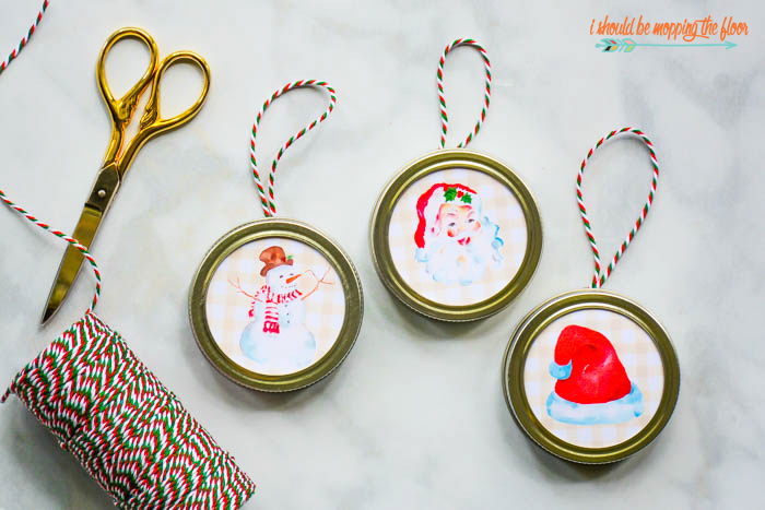 Easy Printable Ornaments