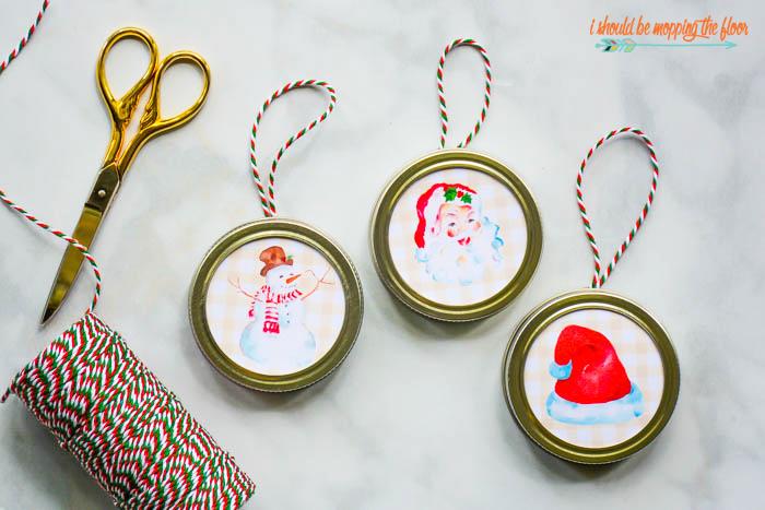 Easy Printable Ornaments