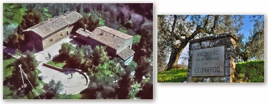 Anchiano - Casa natale di Leonardo
