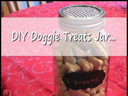 November goals.. and a diy dog treats jar