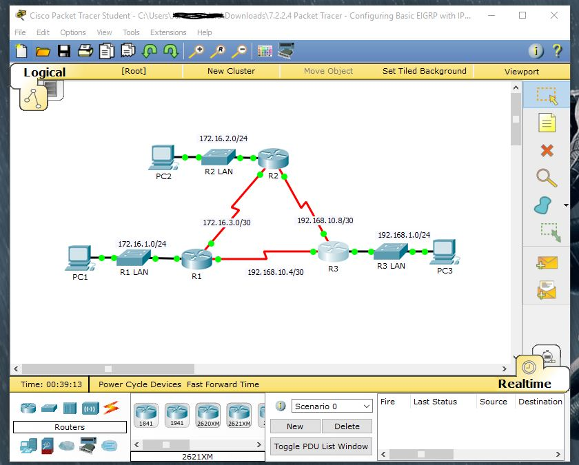 download cisco packet tracer student 7