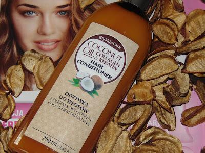GlySkinCare, odżywka do włosów z olejem kokosowym, kolagenem i keratyną, Diagnosis
