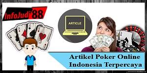 Artikel Poker Online Indonesia