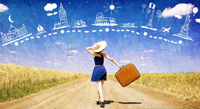 Viajar hace a las personas mucho más felices que los bienes materiales