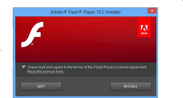 download adobe flash player 10.2 untuk main ninja saga