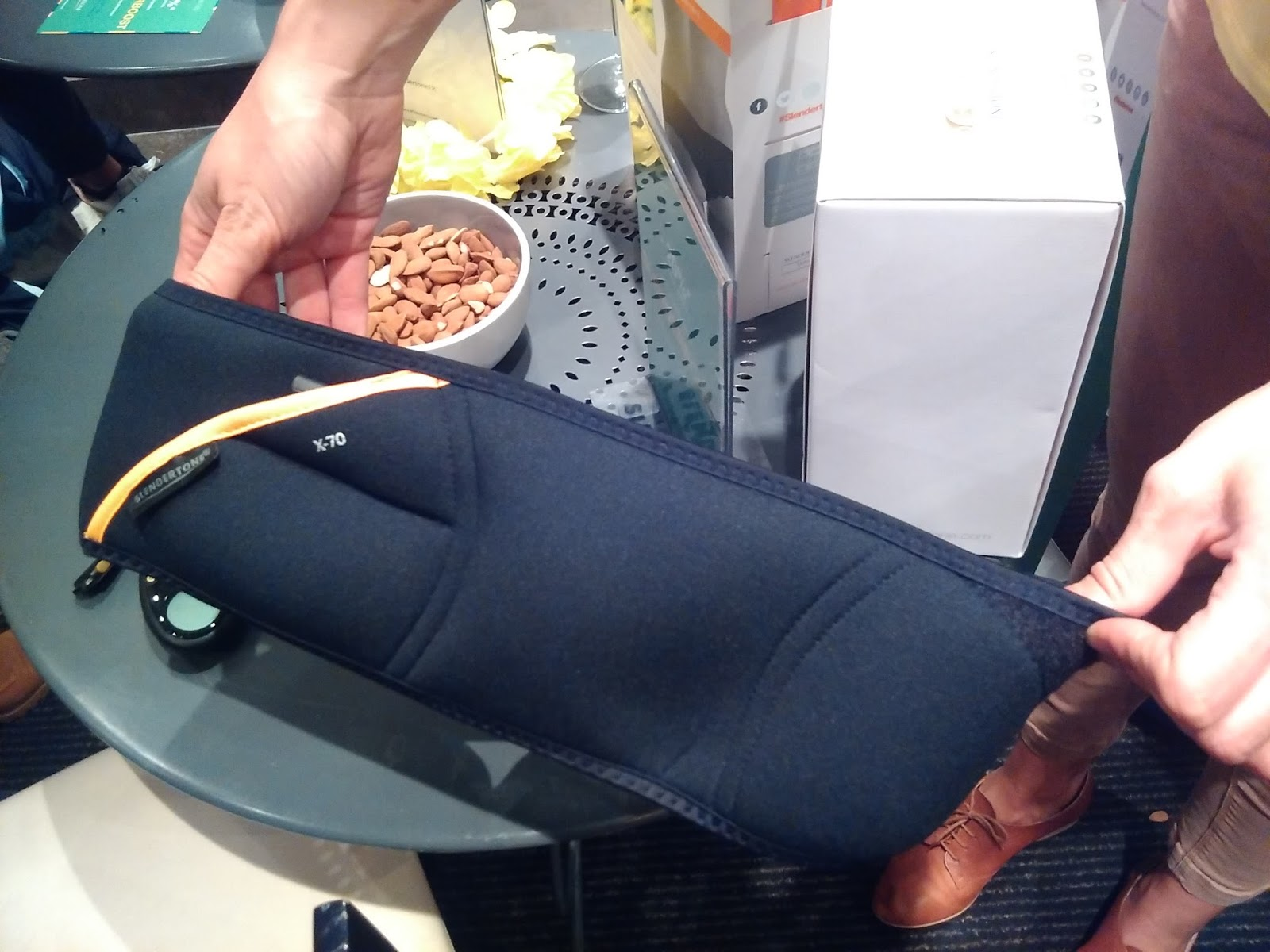 test de la ceinture  Abs 7  Slendertone