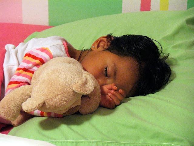 foto - bambina che dorme