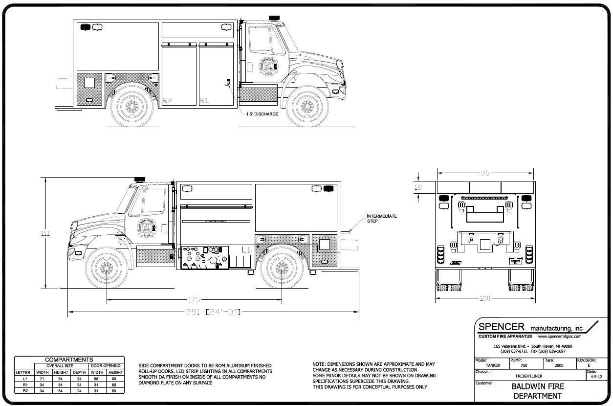 freightliner door diagram [ 1254 x 830 Pixel ]