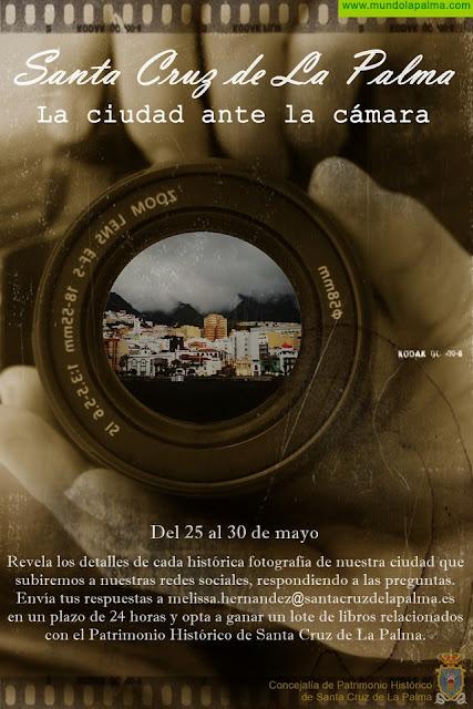"""Patrimonio Histórico lanza """"Santa Cruz de La Palma: La Ciudad ante la cámara"""" con motivo del Día de Canarias"""