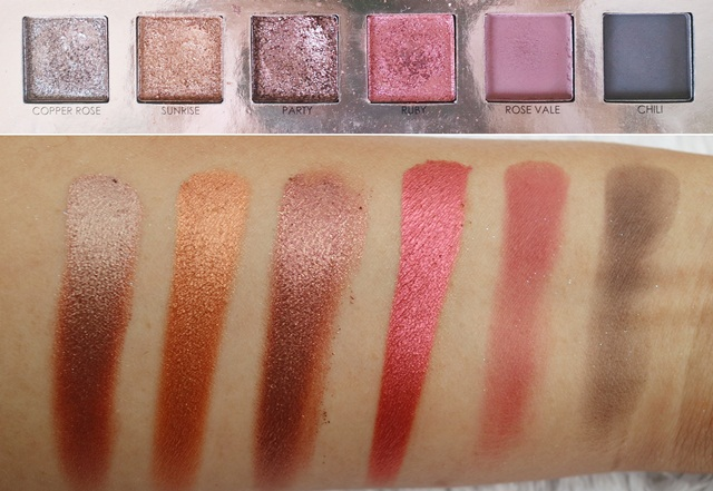 Swatch Eyeshadow Focallure