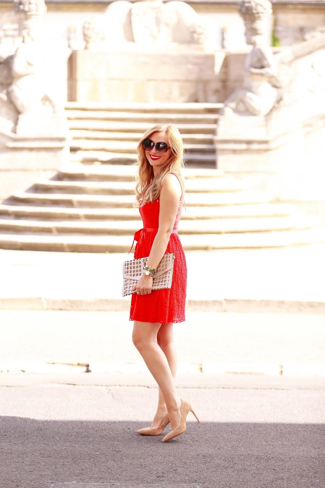 Zu rotem kleid welche schuhe