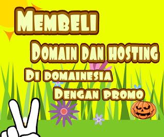 Cara Membeli Domain Dan Hosting Di Domainesia Dengan Promo Murah