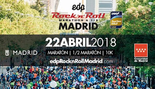 ¿Quieres correr el Rock'n'Roll Madrid Maratón & 1/2? Participa en la VIII Carrera del Taller y opta a 10 dorsales gratis